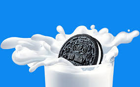 Who can make the milk splash the farthest when you dunk?