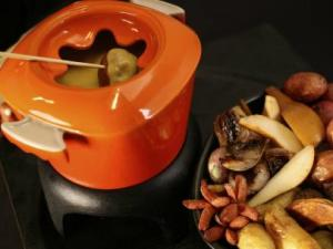 Hard Cider and Cheese Fondue - A dipper's delight.